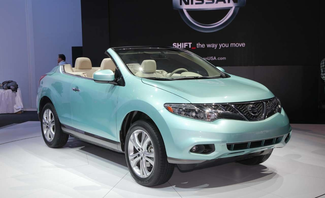 2011 nissan murano crosscabriolet photos from the 2010 los angeles