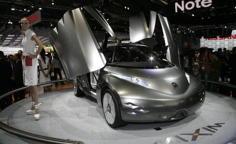 Motor vehicle, Automotive design, Event, Product, Headlamp, Auto show, Supercar, Concept car, Automotive exterior, Personal luxury car,