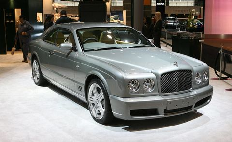 Vehicle, Grille, Hood, Personal luxury car, Luxury vehicle, Vehicle registration plate, Alloy wheel, Bumper, Bentley, Mid-size car,