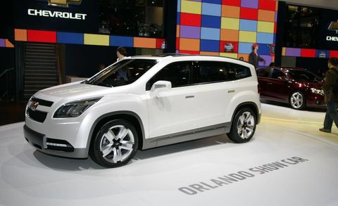 Chevrolet Orlando Concept - Car show in orlando this weekend