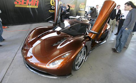The Scorpion Which Made Its Official Public Debut At Sema Show Is A New Exotic Sports Car Like No Other What Makes It Unique