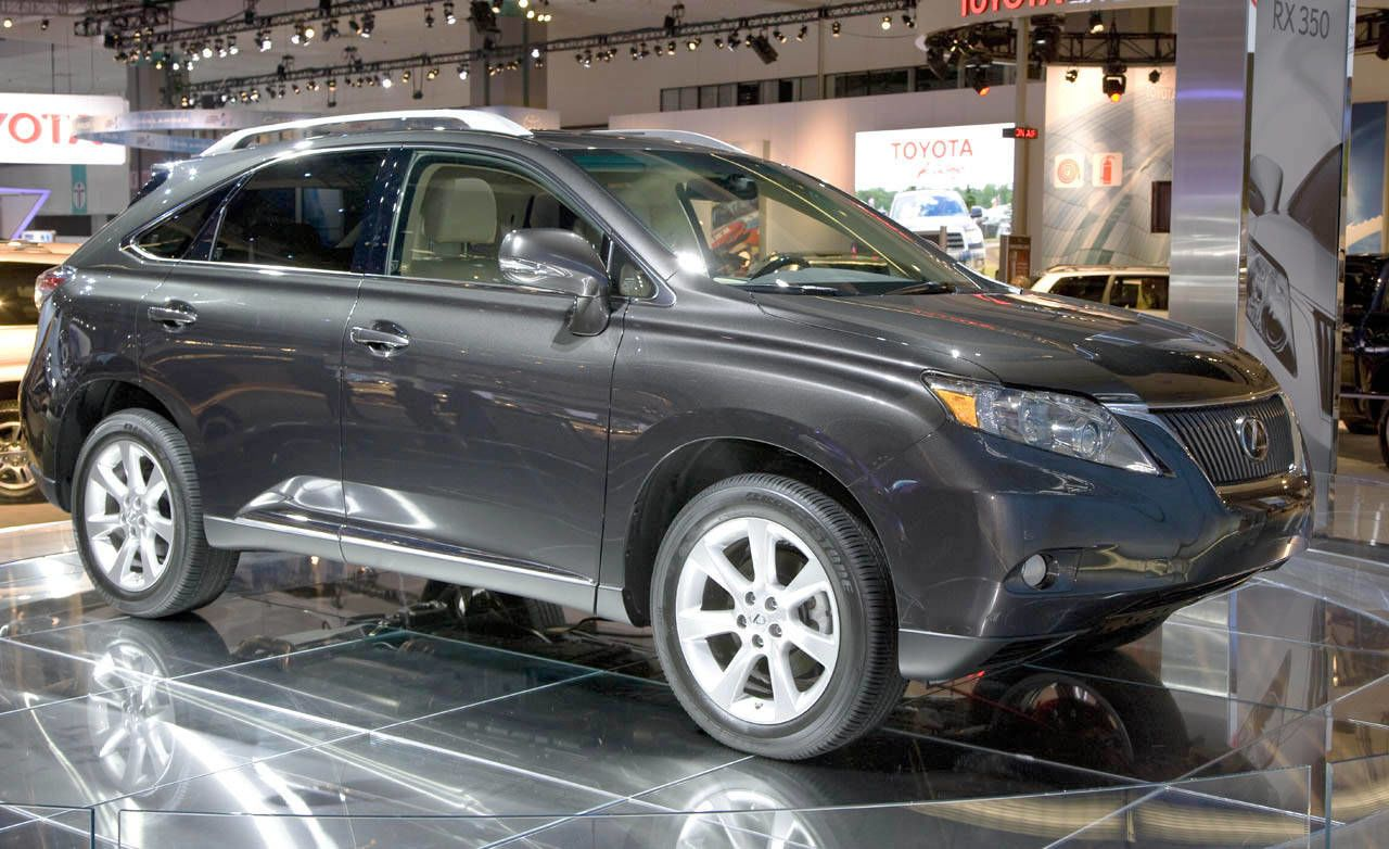 It Was 10 Years Ago That Lexus Rewrote The Rules Regarding Sport Utility  Vehicles When It Introduced Its RX Series, An Upscale Crossover Based On A  Car ...