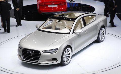 Wheel, Tire, Automotive design, Vehicle, Event, Land vehicle, Car, Personal luxury car, Audi, Auto show,