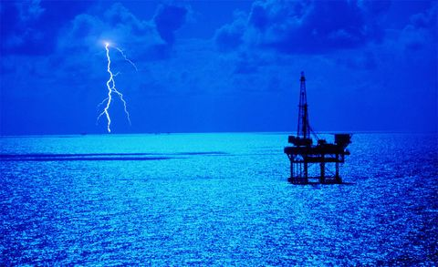 Blue, Thunderstorm, Atmosphere, Natural landscape, Thunder, Storm, Lightning, Atmospheric phenomenon, Electric blue, Electricity,