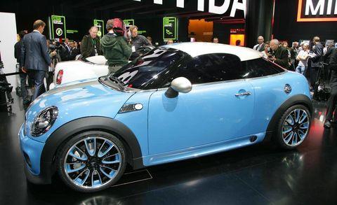 Mini Coupe Concept And Mini Roadster Concept At 2009 Frankfurt Auto Show