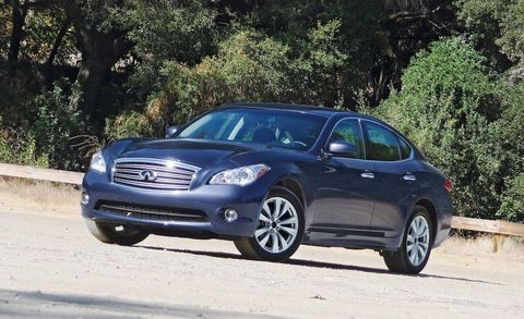 View The Latest First Drive Review Of The 2011 Infiniti M37 Awd