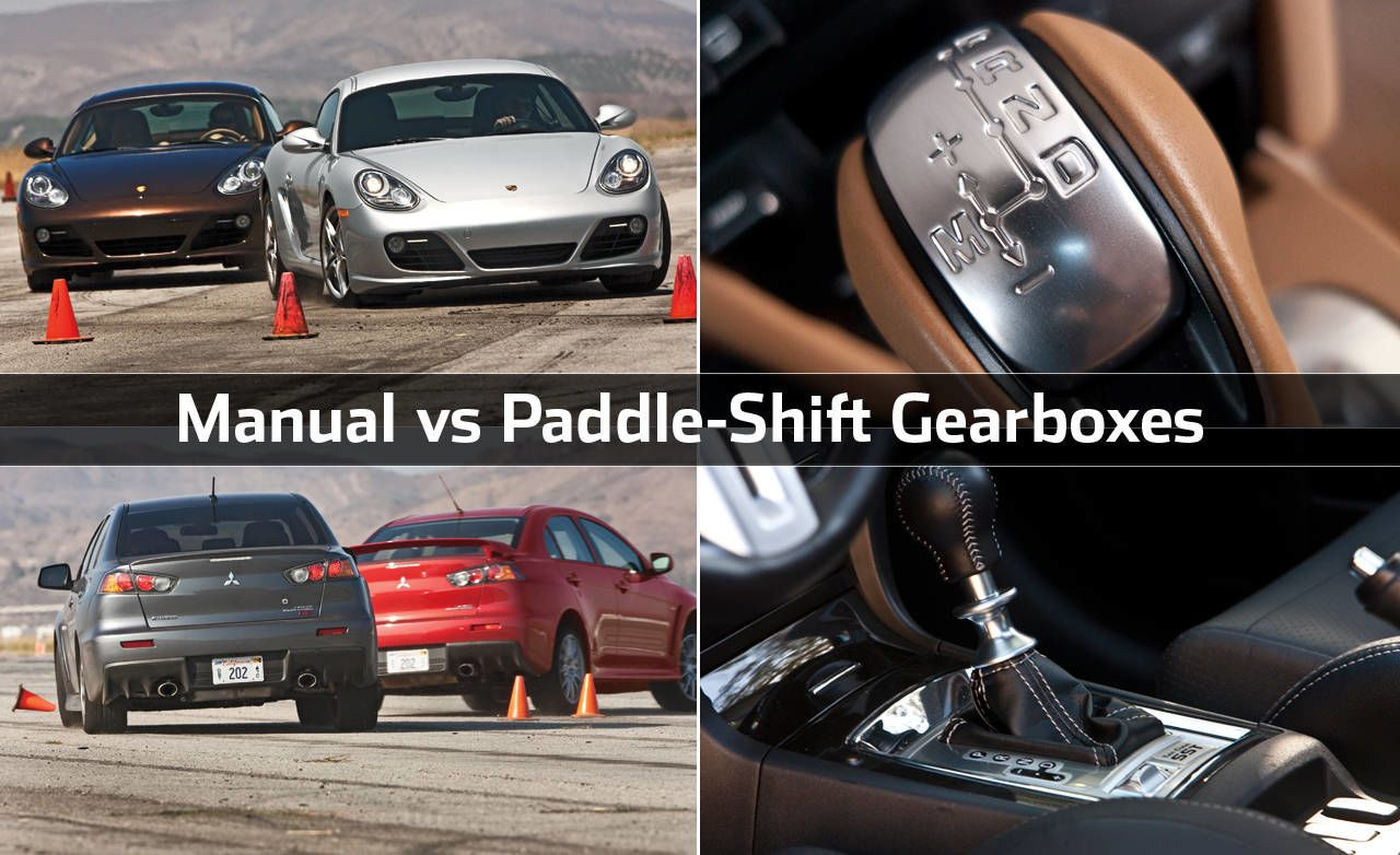 manual vs paddle shift gearboxes rh roadandtrack com Manual Vs. Automated Input Devices 1980s GMC Automatic Transmission Disassembly