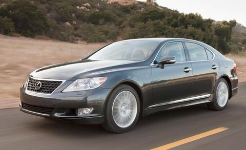 Review of the New 2010 Lexus LS 460 Sport - Full New Car Details