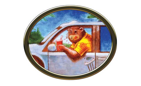 Illustration, Painting, Teddy bear, Bear, Drawing,