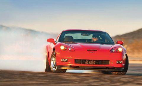 Automotive design, Vehicle, Land vehicle, Hood, Car, Automotive lighting, Performance car, Red, Fender, Headlamp,