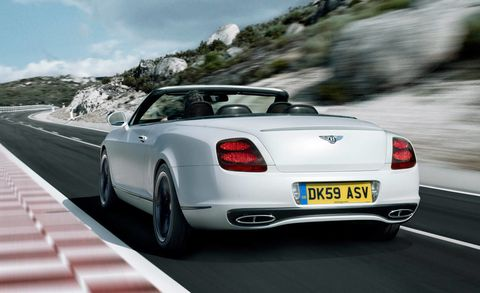 First Look At The New 2011 Bentley Continental Supersports