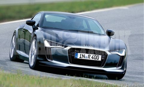 Sports Cars Of The Future Audi R ETron - Future audi cars