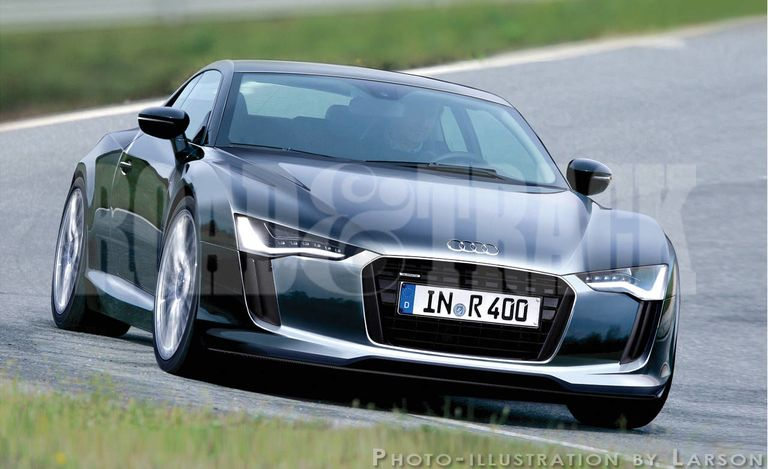 Sports Cars of the Future: 2014 Audi R4 e-Tron