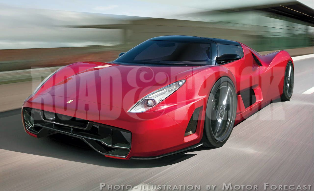 Has Ambitious Goals For Its Successor To The Mighty : Rumored To Be Called  The F70, This Mid Engine Supercar Will Have To Do Nothing Less Than  Substantially ...