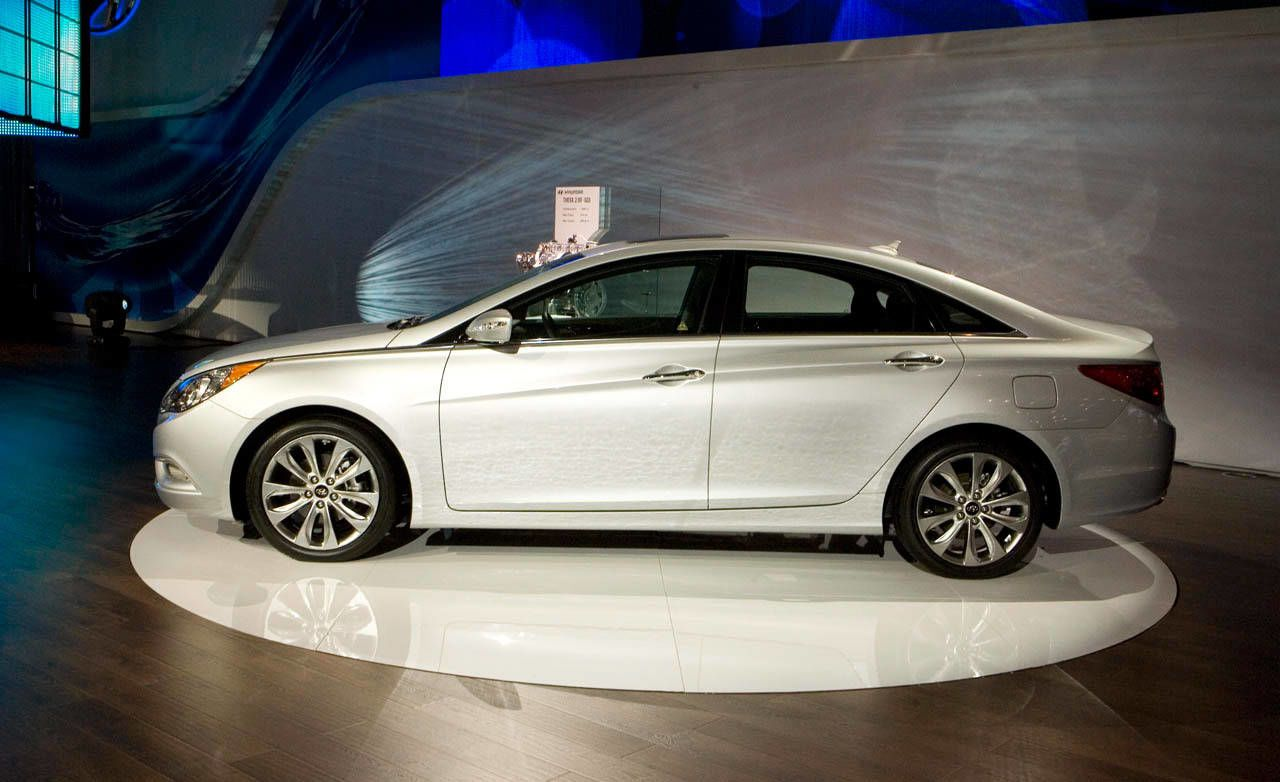 Wonderful When Hyundai Unveiled The Redesigned Sonata Last Year, Rumors That A  Hotted Up Version Was In The Works Were Rampant. And Finally, Here At The  New York Auto ...
