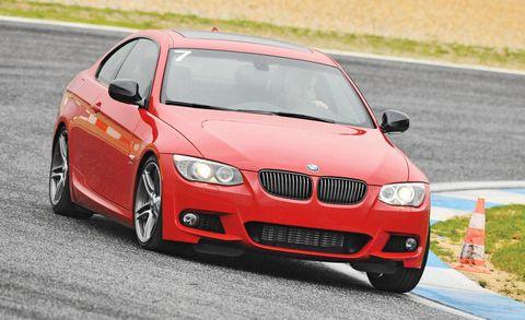 Automotive design, Road, Vehicle, Hood, Car, Asphalt, Red, Rim, Performance car, Road surface,