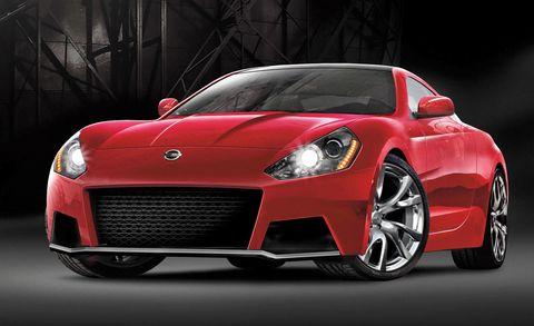 Tire, Automotive design, Vehicle, Event, Automotive lighting, Headlamp, Car, Red, Performance car, Hood,