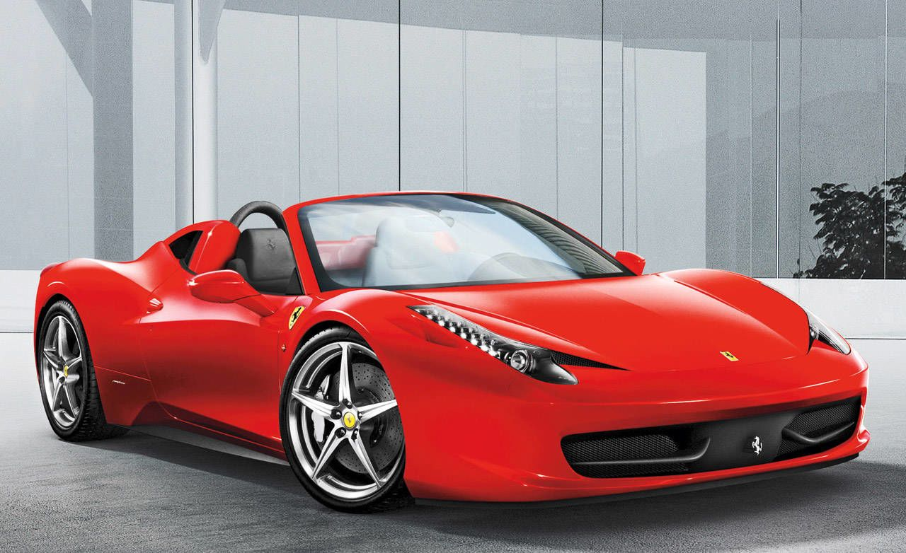 New Cars From Ferrari For The 2011 Model Year.