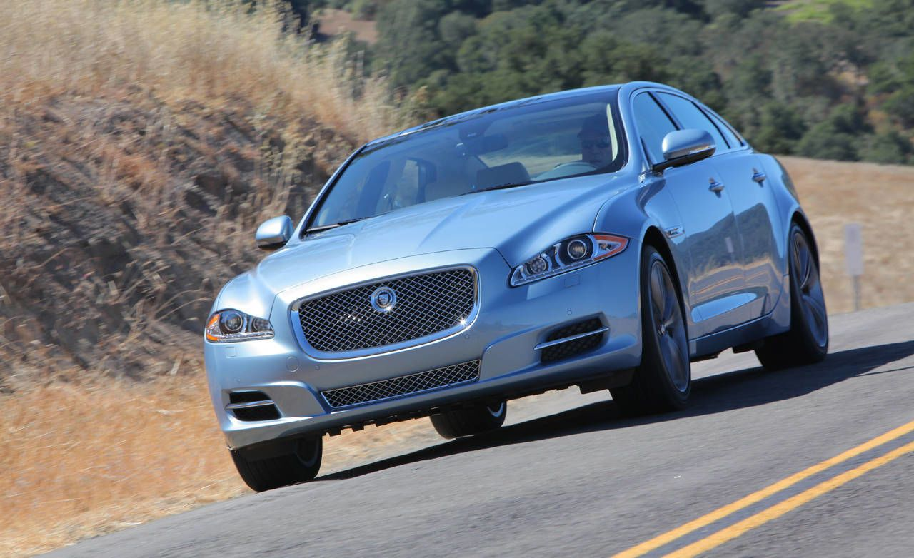 Just As New XJ Sedans Are Starting To Be Seen Being Parked By Valets At  Fine Restaurants Around The Country, The English Automaker Brings Along The  Family ...