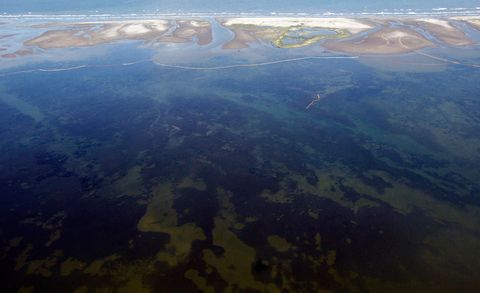 Body of water, Water resources, Coastal and oceanic landforms, Natural landscape, Landscape, Bird's-eye view, Aerial photography, Island, Coast, Inlet,