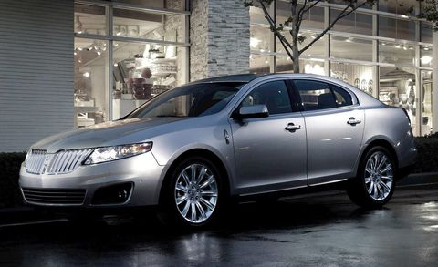 Lincoln Mks Review 2011 Lincoln Mks Sedan Delivers Abundant Power