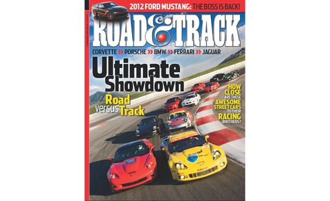 road  track november 2010 cover