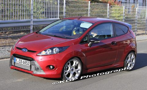 2012 Ford Fiesta Ford Fiesta St Spy Photos