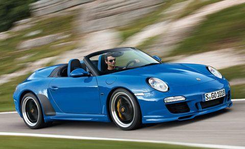 2011 Porsche 911 Speedster Unveiled 2010 Paris Auto Show News