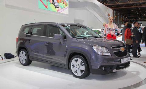 Chevrolet Orlando Paris Auto Show News - Car show orlando today