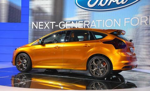 2012 Ford Focus St Watch Focus St Video From The 2010 Paris Auto Show