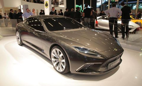 Lotus Eterne Paris Auto Show News - Upcoming auto shows