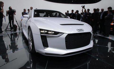 Audi Quattro Concept New Concept Car From The Paris Auto Show