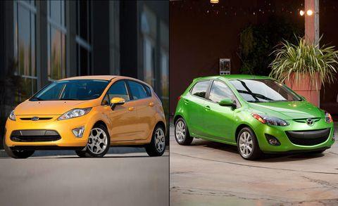 Ford Fiesta Vs Mazda2 Full Comparison Test