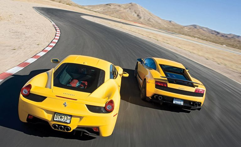Video - The Ultimate Ferrari vs. Lamborghini Road Test - 458 Italia