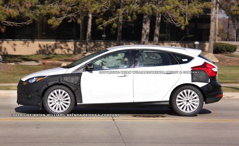 See The Focus Electric Here First Before Its Ces Unveil