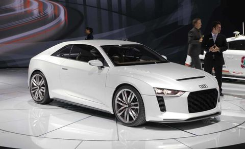 Audi Quattro Concept Photos And Latest News From The 2010 Los