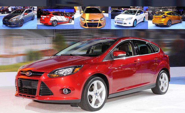 After Making Its World Debut In Paris The 2012 Ford Focus Bowed North America At Los Angeles Auto Show Both 5 Door Hatch And 4 Sedan Models