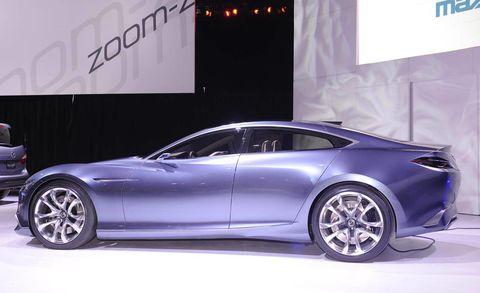 Mazda Shinari Concept – 2010 Los Angeles Auto Show Video ...