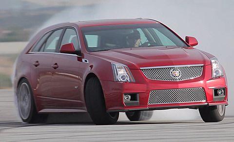2011 Cadillac Cts V Cts V Sport Wagon Review