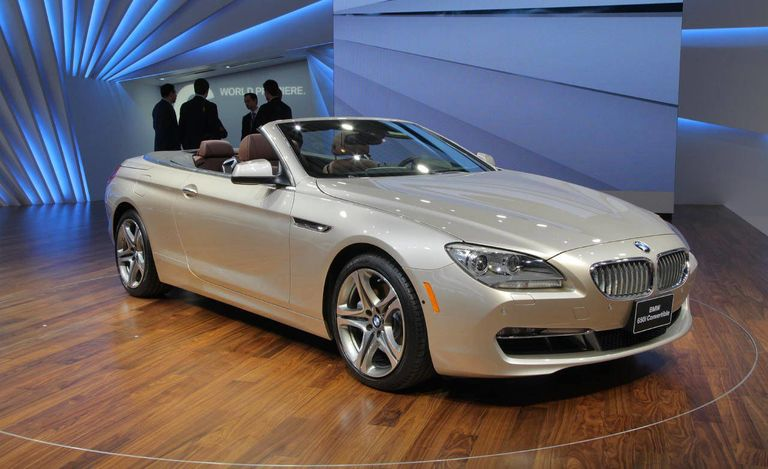 2012 BMW 650i Convertible at 2011 Detroit Auto Show - New BMW Cars ...