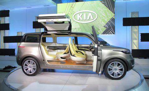 Automotive design, Vehicle, Car, Automotive exterior, Vehicle door, Alloy wheel, Concept car, Auto show, Sport utility vehicle, Exhibition,