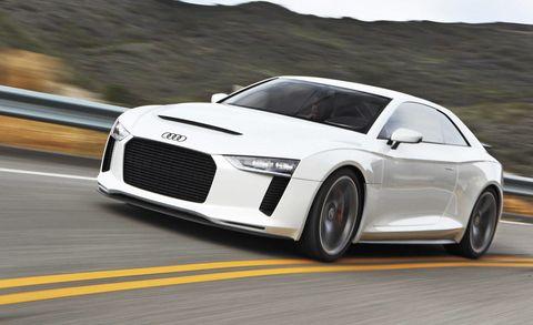 Audi Quattro Concept Review New Audi Concept Car Roadandtrack