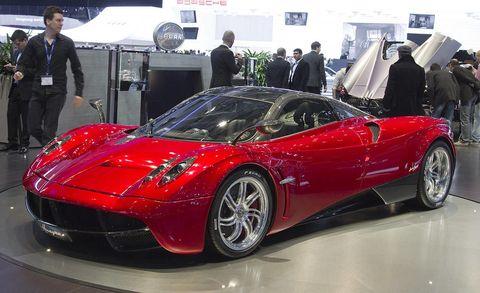 Automotive design, Vehicle, Land vehicle, Event, Car, Performance car, Red, Supercar, Sports car, Personal luxury car,