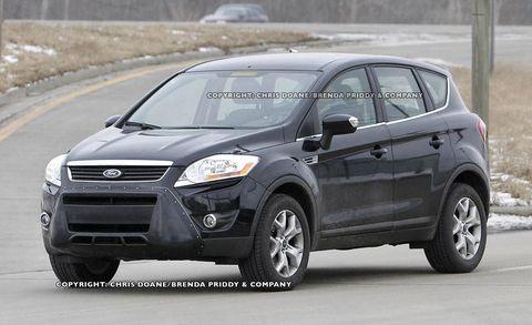 Detroit Auto Show Ford Vertrek Concept