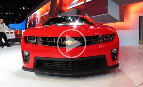 Automotive design, Vehicle, Land vehicle, Automotive lighting, Grille, Car, Chevrolet camaro, Red, Performance car, Headlamp,