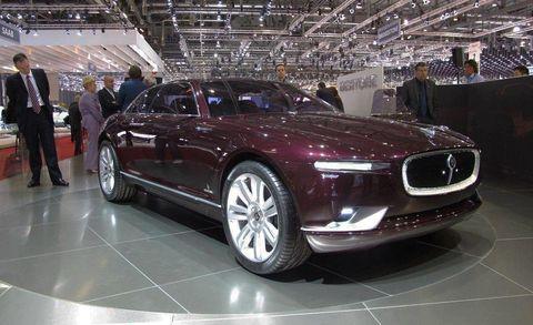 Bertone Cars Jaguar B99 Concept At 2011 Geneva Auto Show