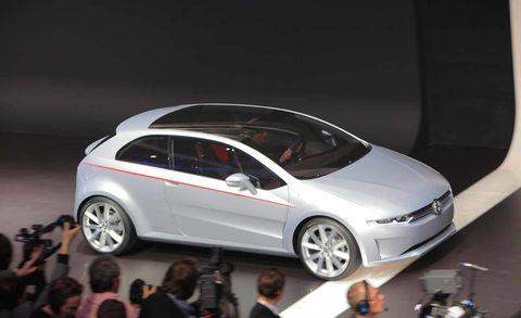 Italdesign Giugiaro Volkswagen Tex And Go Concepts At 2011 Geneva