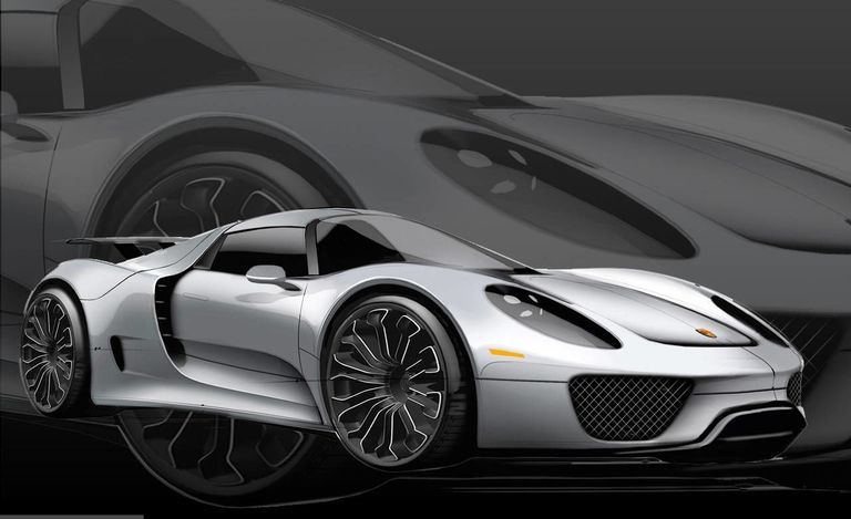porsche 918 spyder and 911 turbo s edition 918 spyder pricing announced. Black Bedroom Furniture Sets. Home Design Ideas