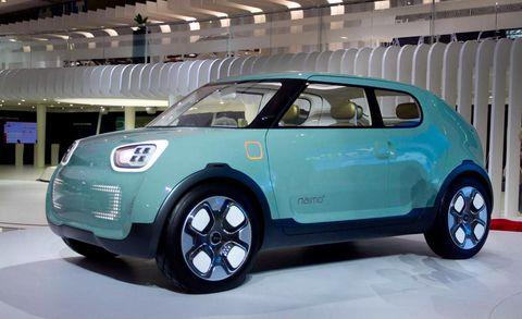 Kia Naimo Kia Concept At Seoul Auto Show - Kia car show