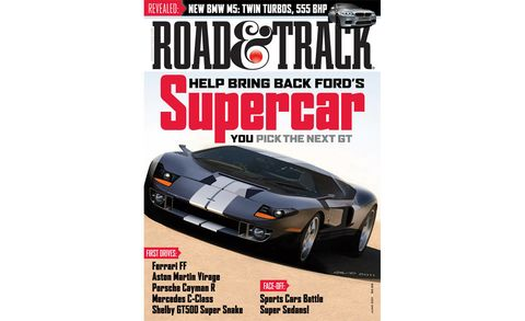 road  track june 2011 cover